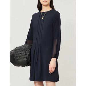 NWT Reiss Delfina Pintuck Dress